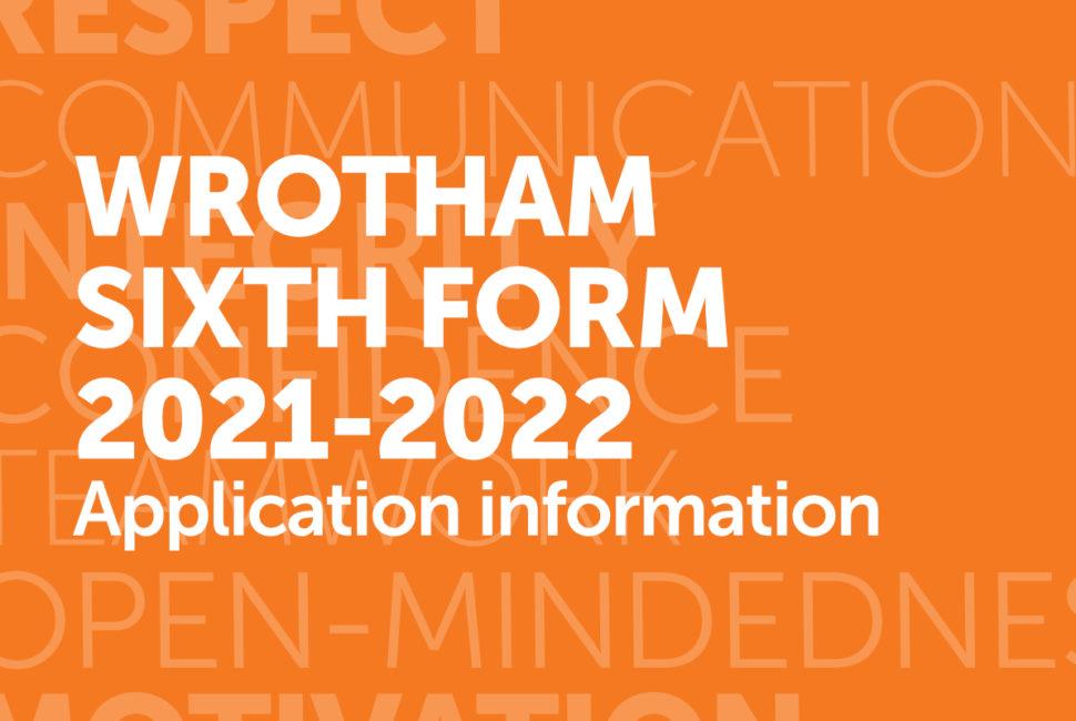 Sixth Form Application 2021-2022