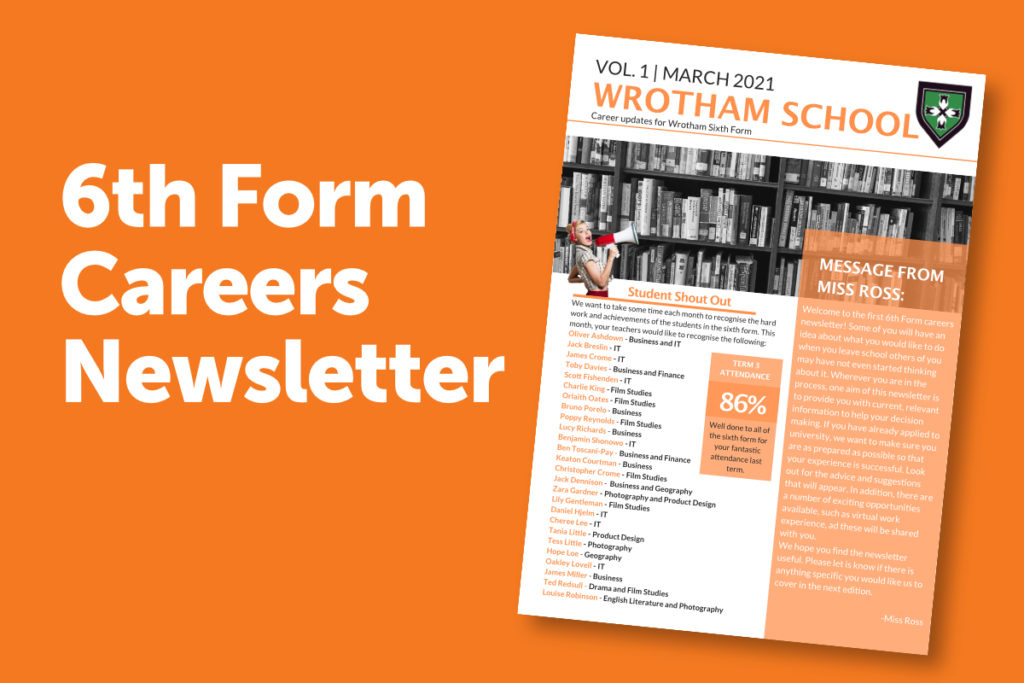 6th Form Careers Newsletter
